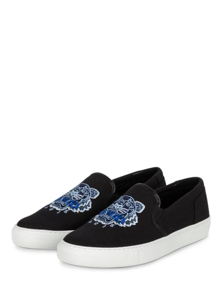 KENZO Slip-on-Sneaker TIGER , Farbe: DUNKELBLAU (Bild 1)