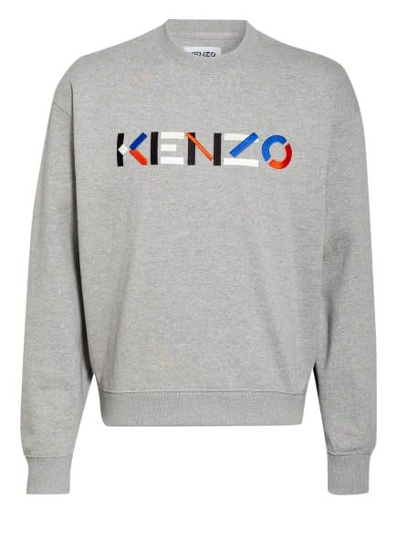 KENZO Sweatshirt, Farbe: GRAU/ BLAU/ ROT (Bild 1)