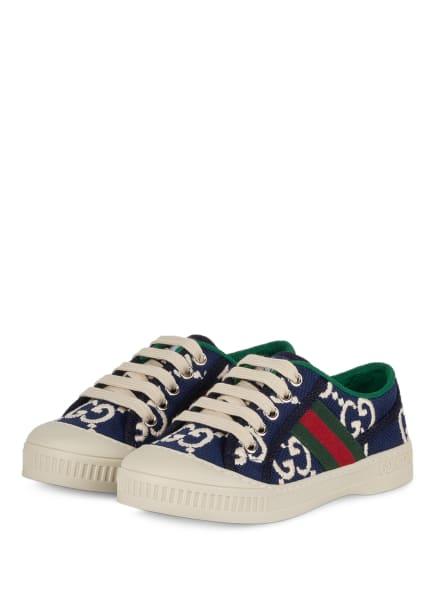 GUCCI Sneaker , Farbe: BLAU/ GRÜN/ CREME (Bild 1)