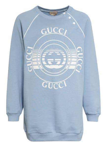 GUCCI Sweatshirt, Farbe: HELLBLAU/ WEISS (Bild 1)