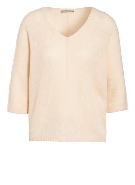 HEMISPHERE Cashmere-Pullover mit 3/4-Arm, Farbe: NUDE (Bild 1)