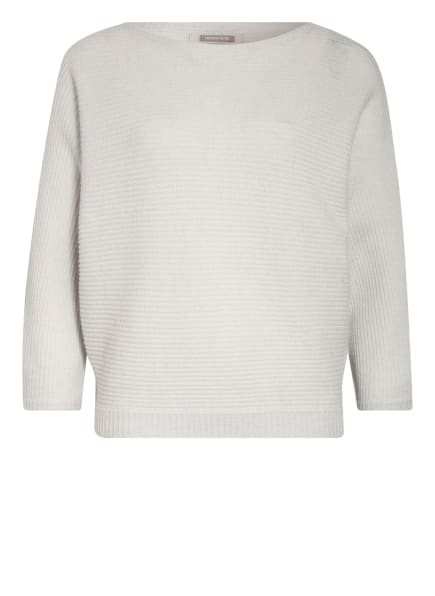 HEMISPHERE Cashmere-Pullover mit 3/4-Arm, Farbe: HELLGRAU (Bild 1)