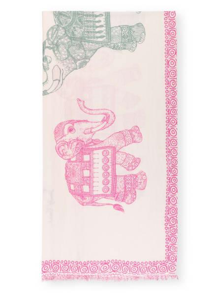 HEMISPHERE Cashmere-Schal DUMBOS mit Seide, Farbe: HELLROSA/ PINK/ ROSÉ (Bild 1)