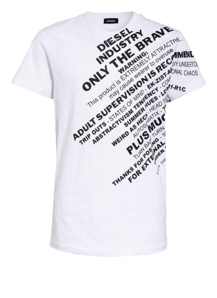 DIESEL T-Shirt , Farbe: WEISS/ SCHWARZ (Bild 1)