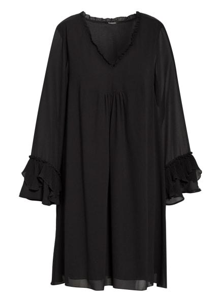TRUE RELIGION Kleid mit Rüschen- und Volantbesatz, Farbe: SCHWARZ (Bild 1)