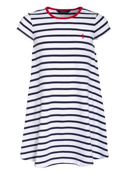 POLO RALPH LAUREN Jerseykleid, Farbe: WEISS/ DUNKELBLAU (Bild 1)