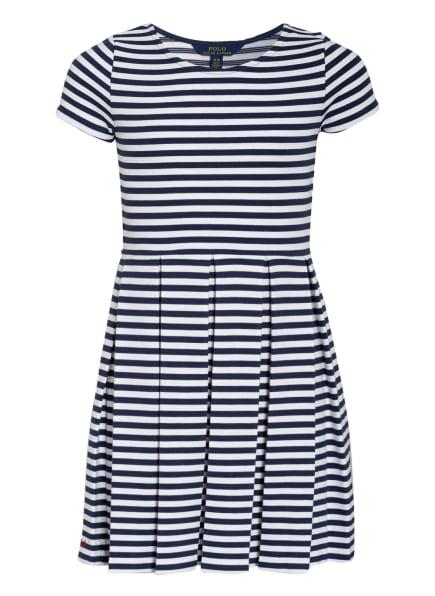 POLO RALPH LAUREN Jerseykleid, Farbe: WEISS/ BLAU (Bild 1)