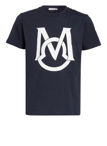 MONCLER enfant T-Shirt, Farbe: DUNKELBLAU (Bild 1)