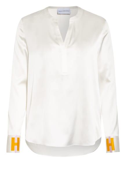 herzensangelegenheit Blusenshirt aus Seide, Farbe: ECRU (Bild 1)