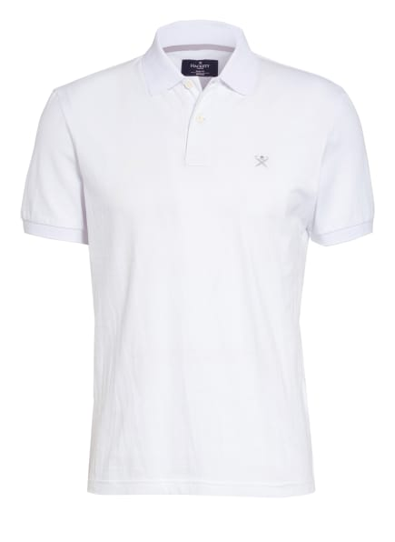 HACKETT LONDON Piqué-Poloshirt Slim Fit, Farbe: WEISS (Bild 1)