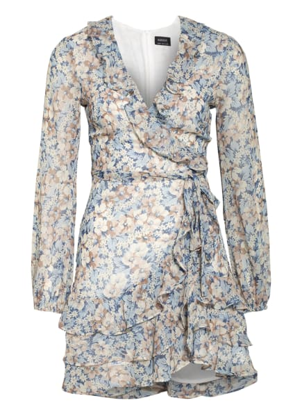 BARDOT Kleid TRIPLE, Farbe: HELLBLAU/ BEIGE/ CREME (Bild 1)