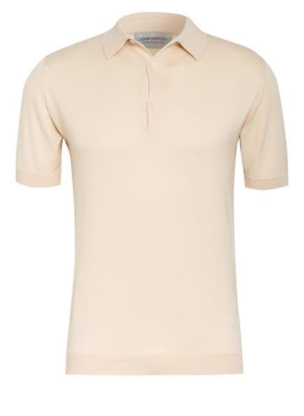 JOHN SMEDLEY Feinstrick Poloshirt ADRIAN, Farbe: ECRU (Bild 1)