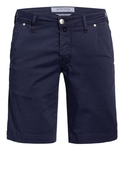 JACOB COHEN Chino-Shorts J6613 Comfort Fit, Farbe: DUNKELBLAU (Bild 1)