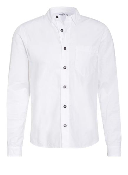 STONE ISLAND Hemd Slim Fit, Farbe: WEISS (Bild 1)