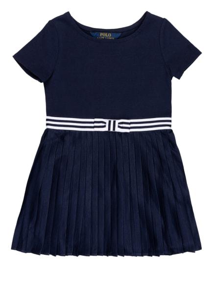 POLO RALPH LAUREN Kleid, Farbe: DUNKELBLAU/ WEISS (Bild 1)