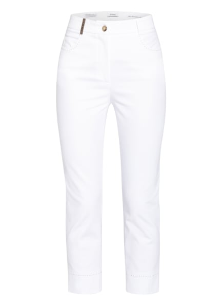 PESERICO 7/8-Jeans, Farbe: WEISS (Bild 1)