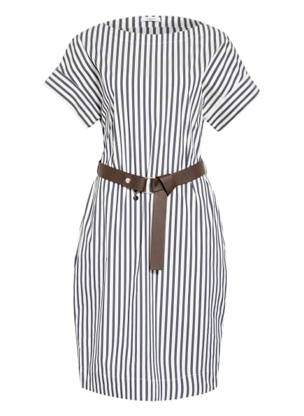 PESERICO Kleid , Farbe: WEISS/ DUNKELBLAU (Bild 1)