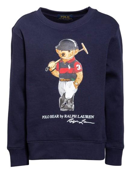 POLO RALPH LAUREN Fleece-Sweatshirt , Farbe: DUNKELBLAU (Bild 1)