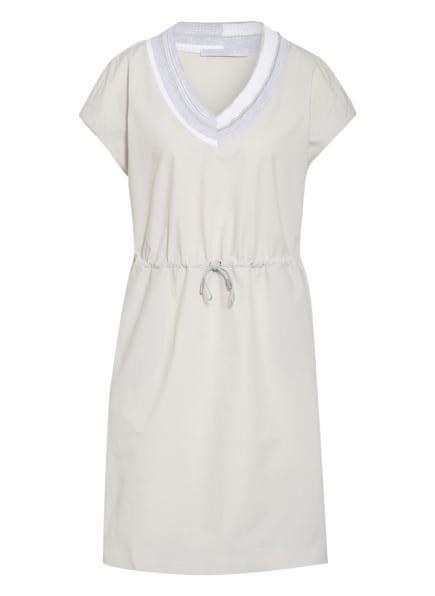 FABIANA FILIPPI Kleid mit Schmucksteinbesatz, Farbe: HELLGRAU (Bild 1)