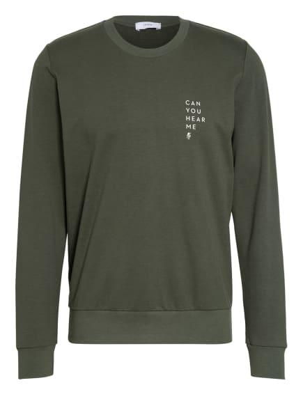 mey Lounge-Sweatshirt Serie HOME OFFICE, Farbe: KHAKI (Bild 1)