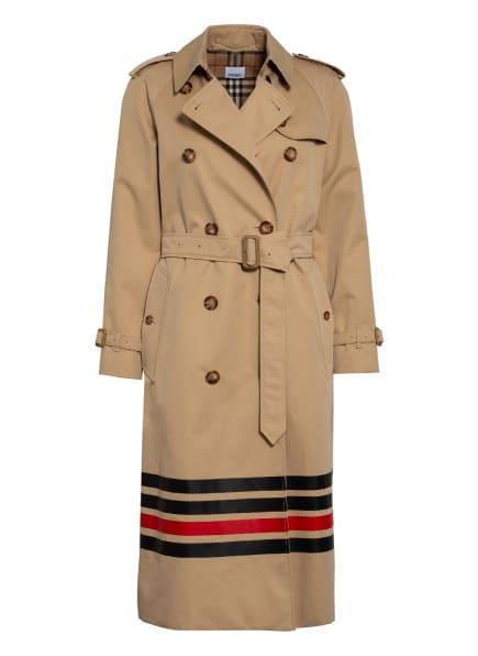 BURBERRY Trenchcoat WATERLOO , Farbe: BEIGE (Bild 1)