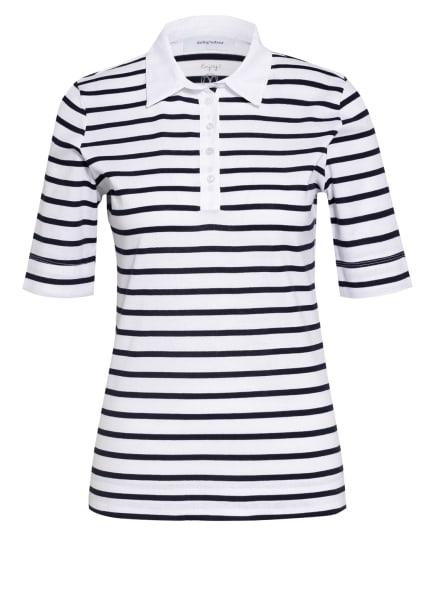 darling harbour Poloshirt , Farbe: WEISS/ BLAU (Bild 1)