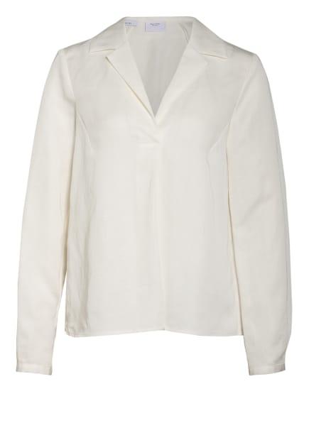 Marc O'Polo Pure Bluse mit Leinen , Farbe: WEISS (Bild 1)