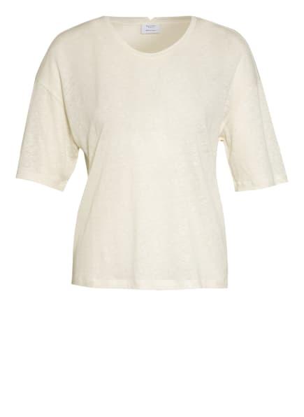 Marc O'Polo Pure T-Shirt aus Leinen mit Seide, Farbe: ECRU (Bild 1)