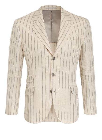 BRUNELLO CUCINELLI Anzugsakko Extra Slim Fit aus Leinen, Farbe: C001 CREME (Bild 1)