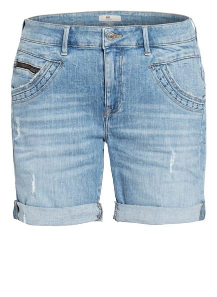 mavi Jeans-Shorts CAMILLA mit Nietenbesatz, Farbe: 33254 lt used memory (Bild 1)