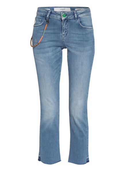 GOLDGARN DENIM Flared Jeans ROSENGARTEN, Farbe: 1070 light blue (Bild 1)