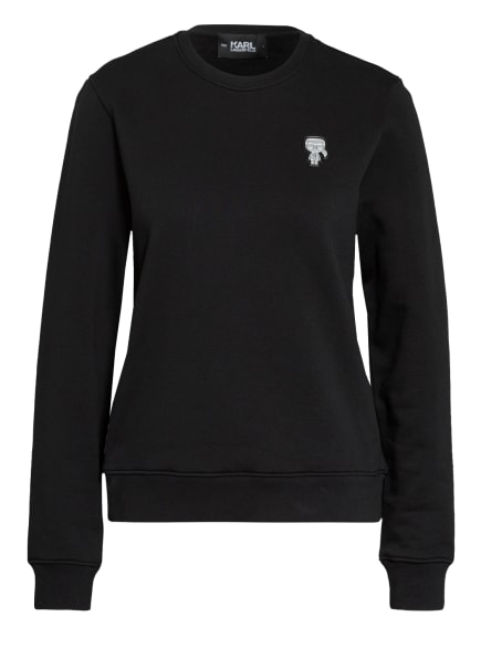 KARL LAGERFELD Sweatshirt IKONIK, Farbe: SCHWARZ (Bild 1)