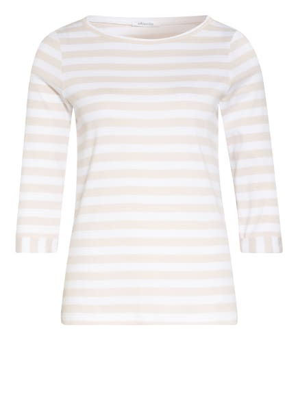 efixelle Shirt mit 3/4-Arm, Farbe: BEIGE/ WEISS (Bild 1)