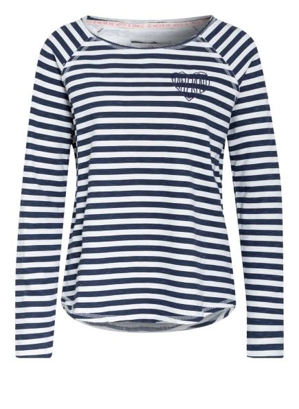 LIEBLINGSSTÜCK Sweatshirt CATRINAL, Farbe: DUNKELBLAU/ WEISS (Bild 1)