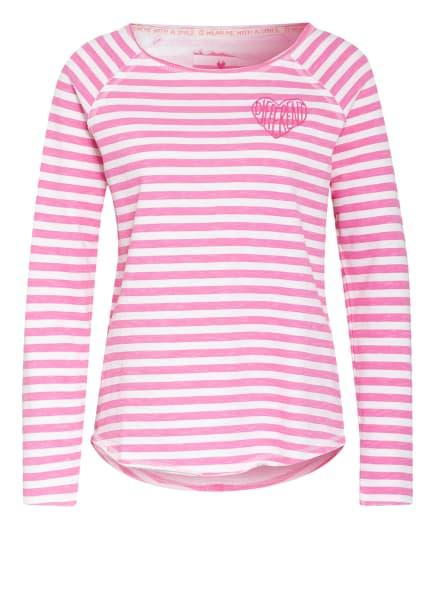 LIEBLINGSSTÜCK Sweatshirt CATRINAL, Farbe: PINK/ WEISS (Bild 1)