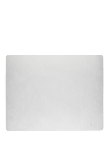 LINDDNA Tischset SQUARE L HIPPO, Farbe: HELLGRAU (Bild 1)