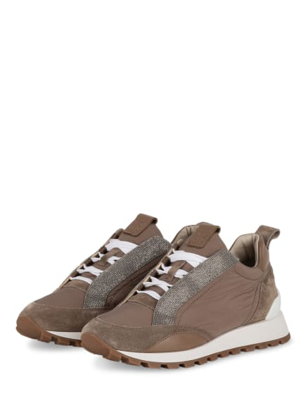 BRUNELLO CUCINELLI Sneaker, Farbe: HELLBRAUN (Bild 1)