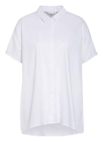 Sophie Oversized-Hemdbluse VABON mit Leinen, Farbe: WEISS (Bild 1)