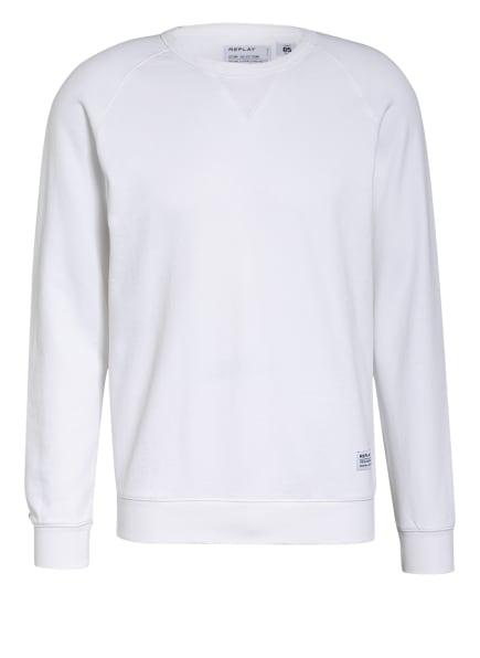 REPLAY Sweatshirt, Farbe: 801 CHALK (Bild 1)