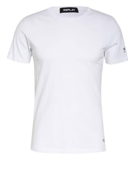 REPLAY T-Shirt, Farbe: WEISS (Bild 1)