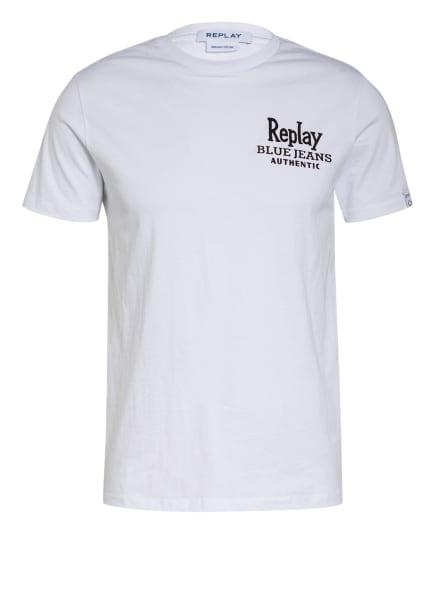 REPLAY T-Shirt, Farbe: 801 CHALK (Bild 1)