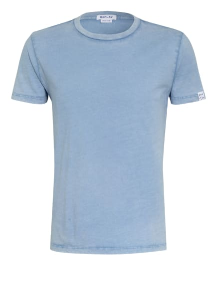 REPLAY T-Shirt, Farbe: BLAUGRAU (Bild 1)