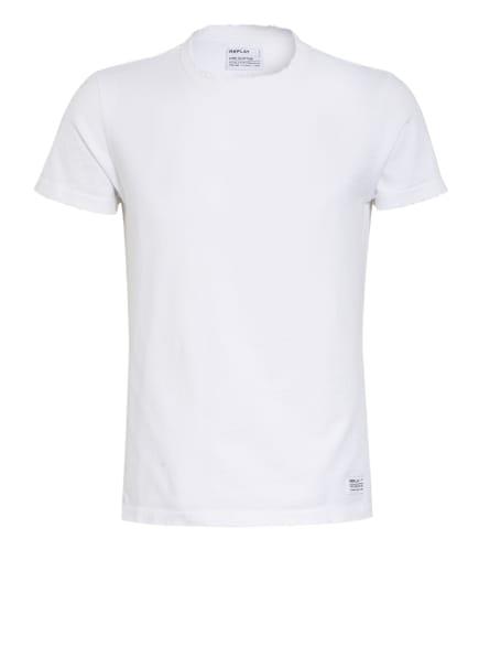 REPLAY T-Shirt, Farbe: 001 WHITE (Bild 1)