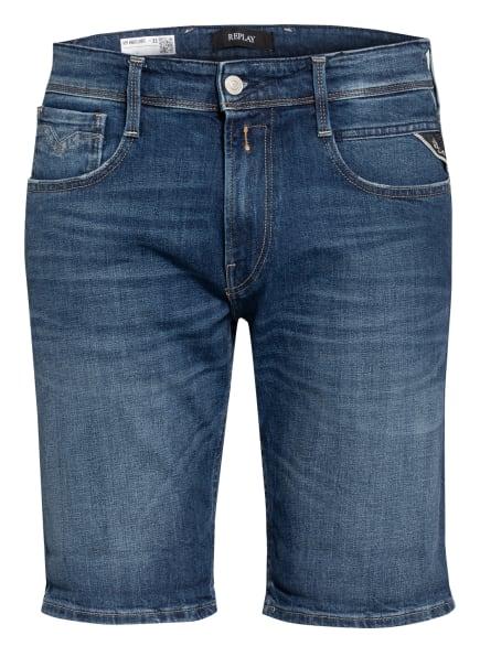REPLAY Jeans-Shorts ANBASS Slim Fit, Farbe: 009 MEDIUM BLUE (Bild 1)