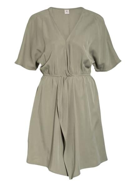 LOVJOI Kleid ERICA in Wickeloptik, Farbe: OLIV (Bild 1)