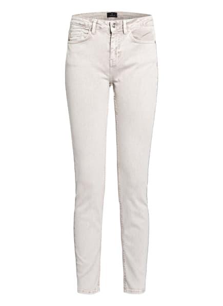 monari Skinny Jeans mit Schmucksteinbesatz, Farbe: 115 cashew (Bild 1)