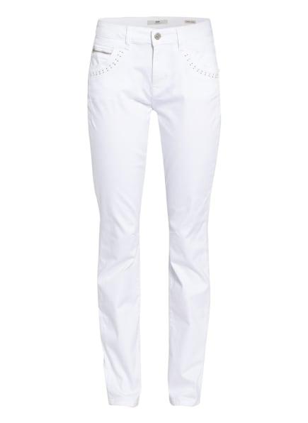 mavi Jeans SOPHIE, Farbe: 34107 white sateen str (Bild 1)