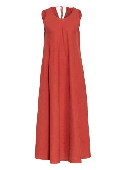 BOSS Leinenkleid DRAS, Farbe: ROT (Bild 1)