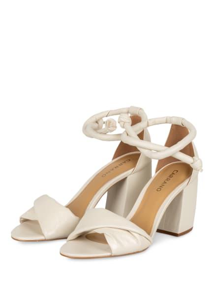 CARRANO Sandaletten, Farbe: CREME (Bild 1)