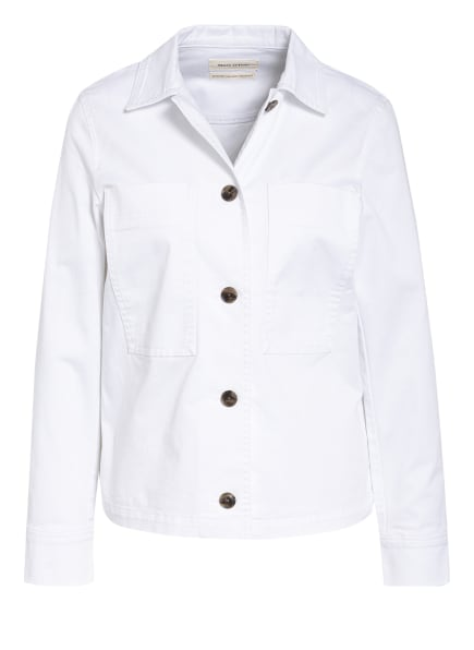 Marc O'Polo Jeans-Overshirt, Farbe: WEISS (Bild 1)